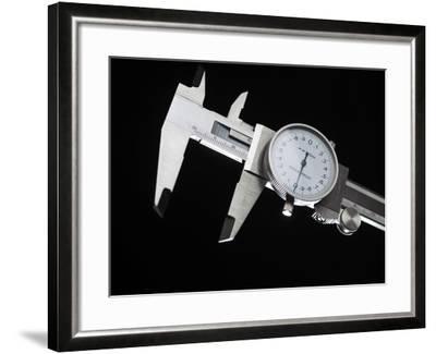 Dial Calipers-Tek Image-Framed Photographic Print