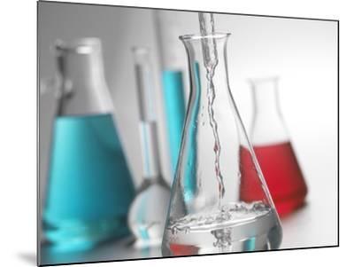 Laboratory Glassware-Tek Image-Mounted Photographic Print