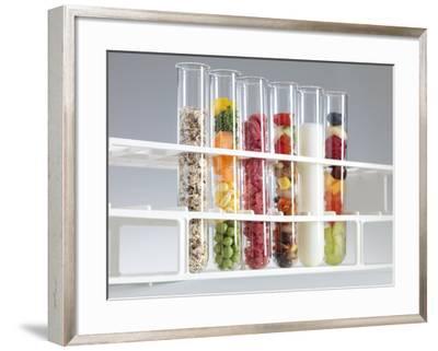 Balanced Diet-Tek Image-Framed Photographic Print