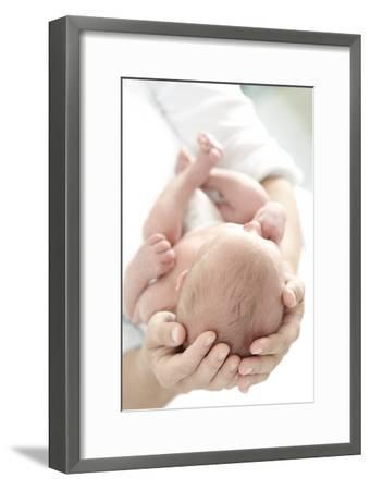 Mother And Newborn Baby Boy-Ruth Jenkinson-Framed Photographic Print