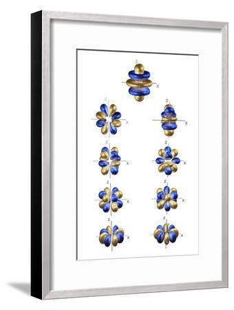 5g Electron Orbitals-Dr. Mark J.-Framed Photographic Print