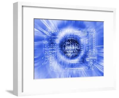 Quantum Computing-Mehau Kulyk-Framed Photographic Print