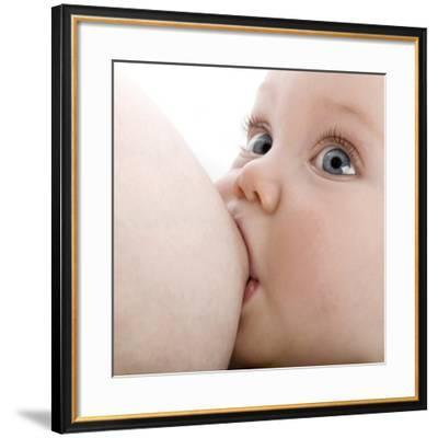 Breastfeeding-Science Photo Library-Framed Photographic Print
