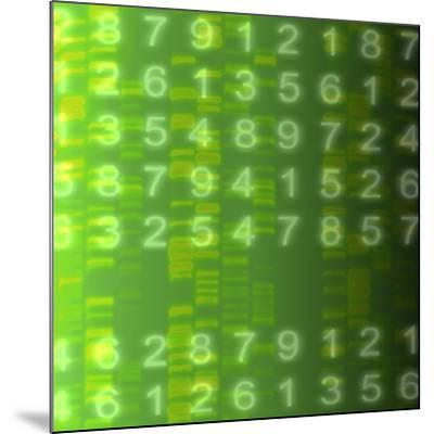 DNA Autoradiogram, Artwork-Mehau Kulyk-Mounted Photographic Print