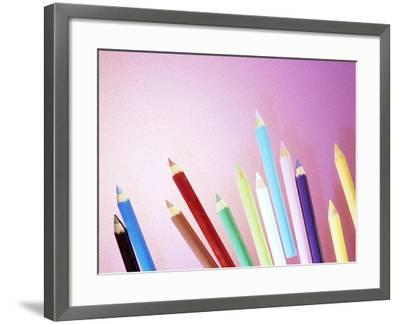 Pencil Crayons-Lawrence Lawry-Framed Photographic Print
