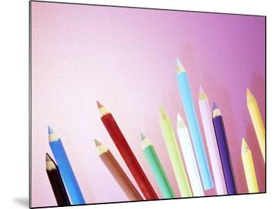 Pencil Crayons-Lawrence Lawry-Mounted Photographic Print