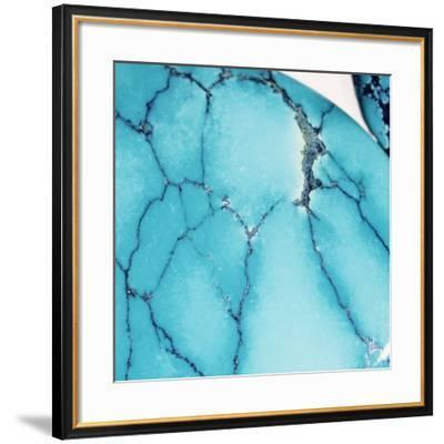 Turquoise Gemstone-Lawrence Lawry-Framed Photographic Print