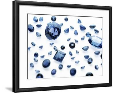 Sapphire Gemstones-Lawrence Lawry-Framed Photographic Print