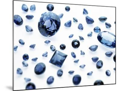 Sapphire Gemstones-Lawrence Lawry-Mounted Photographic Print