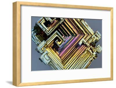 Bismuth Crystal-Lawrence Lawry-Framed Photographic Print