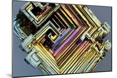 Bismuth Crystal-Lawrence Lawry-Mounted Photographic Print