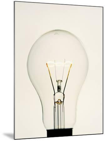 Electric Light Bulb-Lawrence Lawry-Mounted Photographic Print