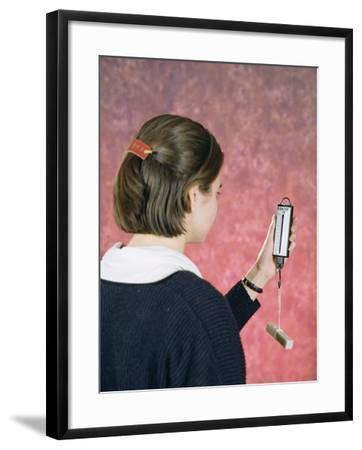 Spring Balance Experiment-Andrew Lambert-Framed Photographic Print
