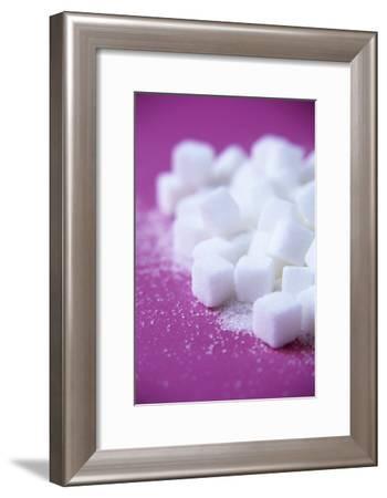 White Sugar Cubes-Veronique Leplat-Framed Photographic Print