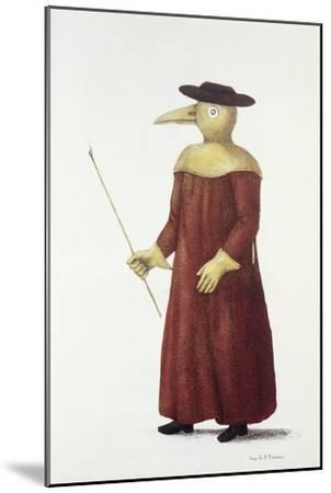 Plague Doctor, 18th Century-Science Photo Library-Mounted Photographic Print