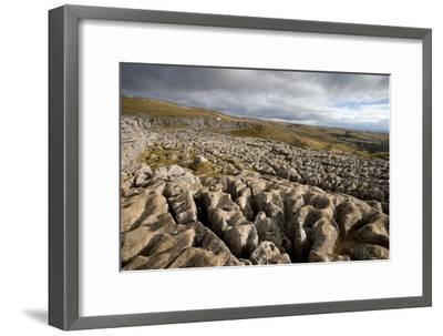 Limestone Pavement, Yorkshire-Bob Gibbons-Framed Photographic Print