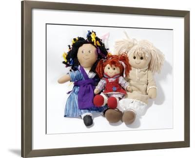 Soft Dolls-Johnny Greig-Framed Photographic Print