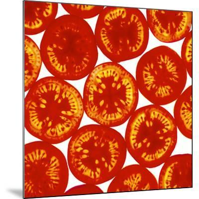 Tomato Slices-Johnny Greig-Mounted Photographic Print