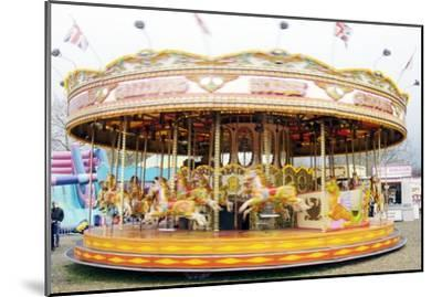 Fairground Carousel-Johnny Greig-Mounted Photographic Print
