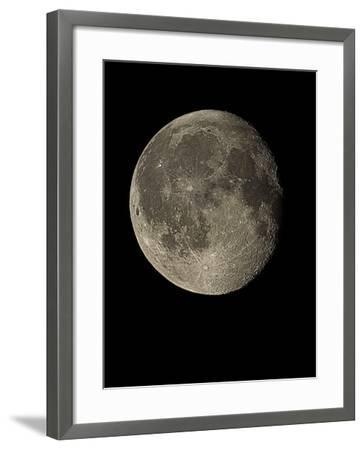Waning Gibbous Moon-Eckhard Slawik-Framed Photographic Print