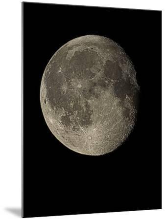 Waning Gibbous Moon-Eckhard Slawik-Mounted Photographic Print
