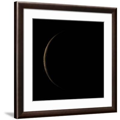 Waning Crescent Moon-Eckhard Slawik-Framed Photographic Print