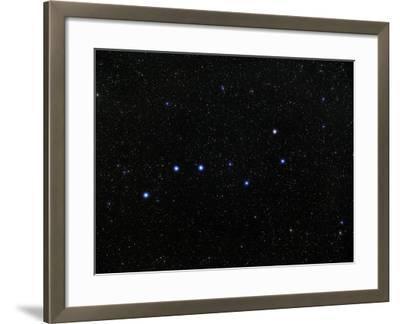 The Plough Asterism In Ursa Major-Eckhard Slawik-Framed Photographic Print