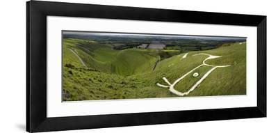 The Uffington Bronze Age White Horse Wide-Paul Stewart-Framed Photographic Print
