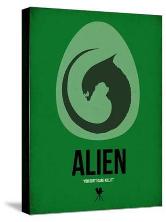 Alien-David Brodsky-Stretched Canvas Print