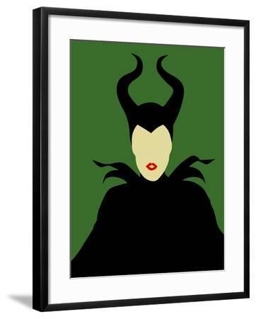 Maleficent-David Brodsky-Framed Art Print
