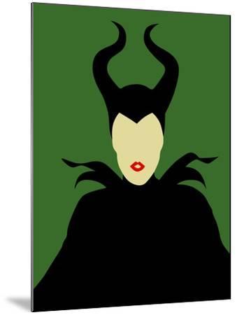 Maleficent-David Brodsky-Mounted Art Print