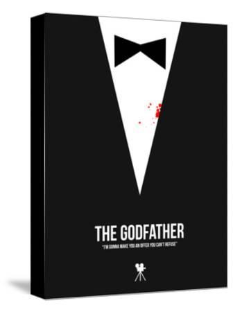 The Godfather-David Brodsky-Stretched Canvas Print