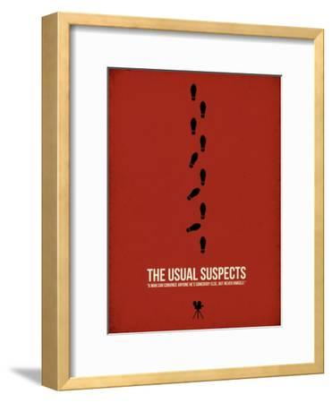 The Usual Suspects-David Brodsky-Framed Art Print