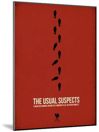 The Usual Suspects-David Brodsky-Mounted Art Print