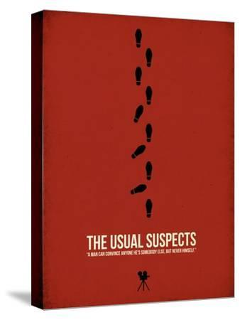 The Usual Suspects-David Brodsky-Stretched Canvas Print