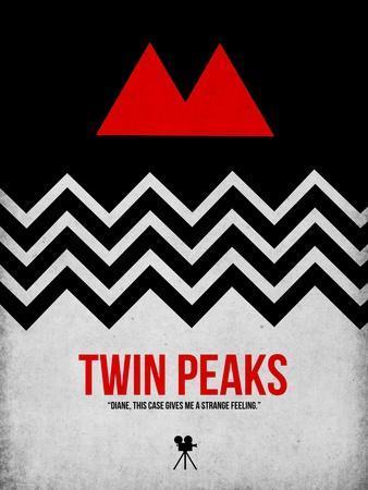 Twin Peaks-David Brodsky-Framed Premium Giclee Print