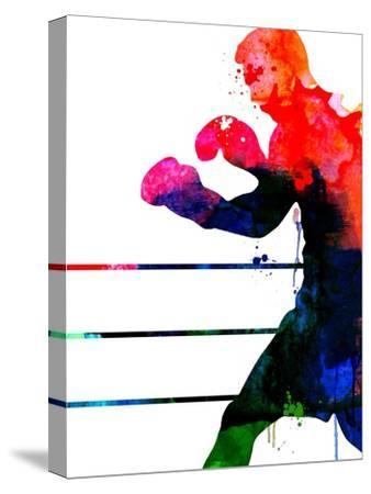 Jake Watercolor-Lora Feldman-Stretched Canvas Print