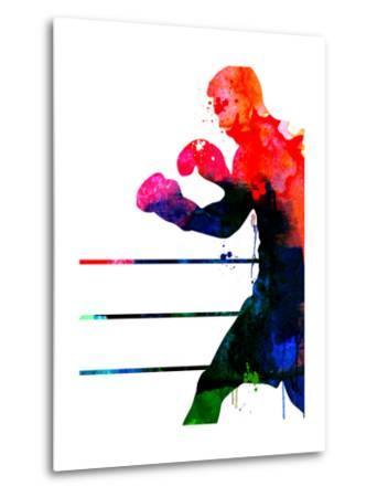 Jake Watercolor-Lora Feldman-Metal Print
