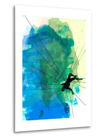 Vertigo Watercolor-Lora Feldman-Metal Print
