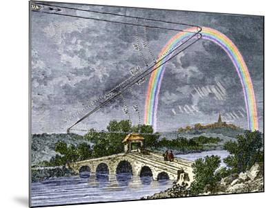 Rainbow Optics, Historical Artwork-Sheila Terry-Mounted Photographic Print