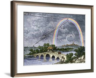 Rainbow Optics, Historical Artwork-Sheila Terry-Framed Photographic Print
