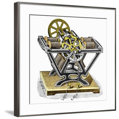 Early Electric Motor, 1834-Sheila Terry-Framed Photographic Print