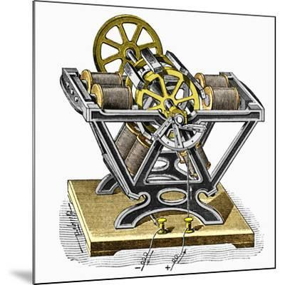 Early Electric Motor, 1834-Sheila Terry-Mounted Photographic Print