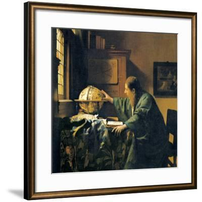 The Astronomer, 17th Century Artwork-Sheila Terry-Framed Photographic Print