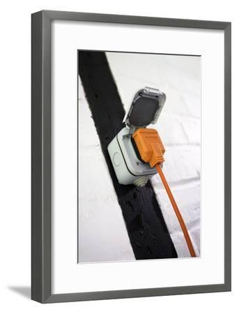 Weatherproof Electrical Socket Outlet-Sheila Terry-Framed Photographic Print