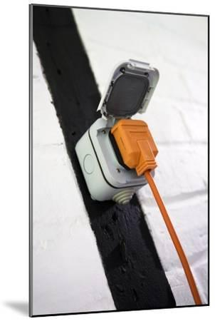 Weatherproof Electrical Socket Outlet-Sheila Terry-Mounted Photographic Print