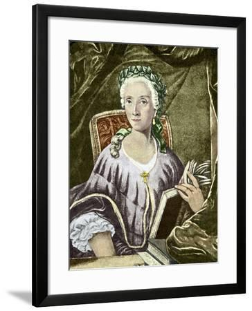 Laura Bassi, Italian Physicist-Sheila Terry-Framed Photographic Print