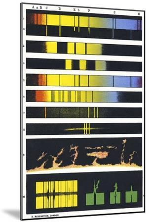 Early Astronomical Spectroscopy-Sheila Terry-Mounted Photographic Print