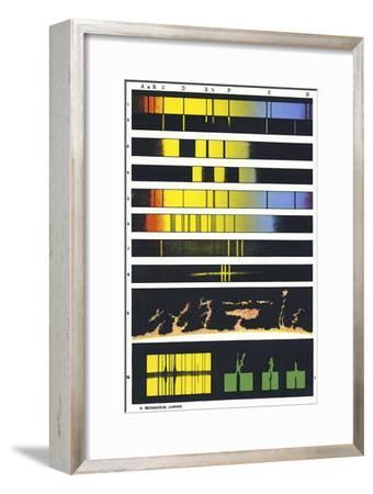 Early Astronomical Spectroscopy-Sheila Terry-Framed Photographic Print