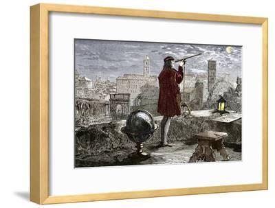 Nicolaus Copernicus, Polish Astronomer-Sheila Terry-Framed Photographic Print